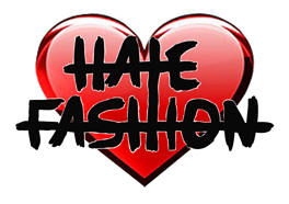 Hate Fashion Heart logo